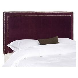 Verna Headboard in Bordeaux