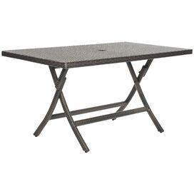Ellis Rectangular Rattan Folding Table