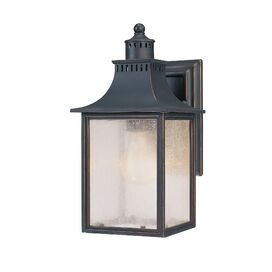 Sawyer Outdoor Wall Lantern in Slate