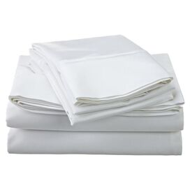 1200 Thread Count Egyptian Cotton Sheet Set in White