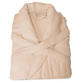 Egyptian Cotton Bathrobe in Taupe