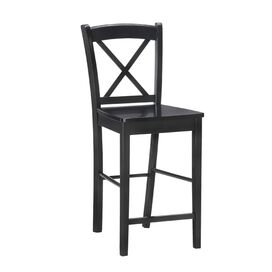 Garlough Counter Stool in Black