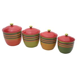 4-Piece Trujillo Canister Set