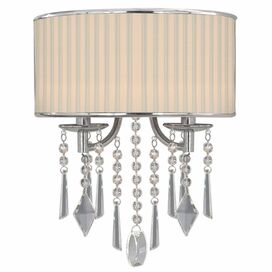 Rebecca Wall Sconce in Bridal Veil