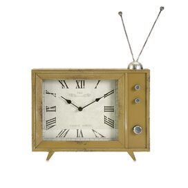 Lucille TV Table Clock
