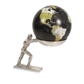 Sisyphus Globe Decor