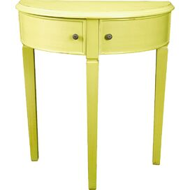 Cassidy Console Table in Yellow