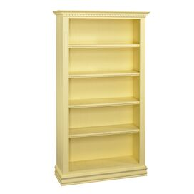 Soraya Bookcase in Creme Brulee