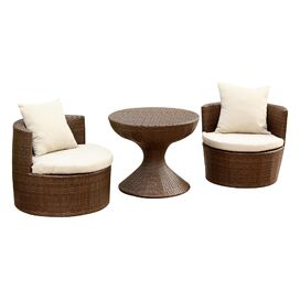 Palermo 3 Piece Seating Group with Cushions