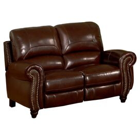 "Charlotte 65.5"" Leather Loveseat"