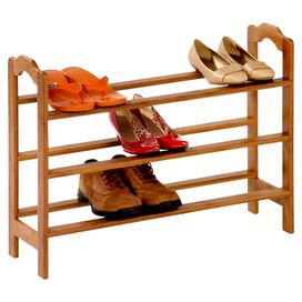 Kelly Bamboo Shoe Rack