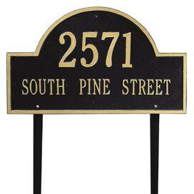 Arch Marker Address Plaque
