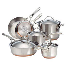 Anolon 10-Piece Stainless Steel Cookware Set