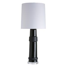 """Kenya 29"""" H Table Lamp with Empire Shade"""