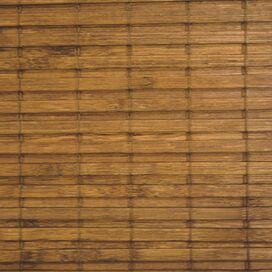 Bamboo Roman Shade in Maple