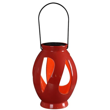 Leaves 1 Light Outdoor Hanging Lantern/Pendant