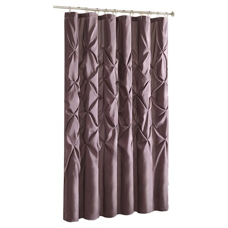 Laurel Shower Curtain In Plum