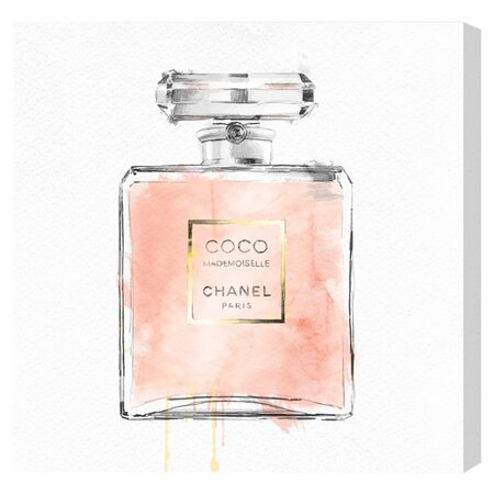 Coco Mademoiselle Canvas Print, Oliver Gal