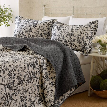 Laura Ashley Bedford Blue Quilt Laura Ashley Amberley Quilt