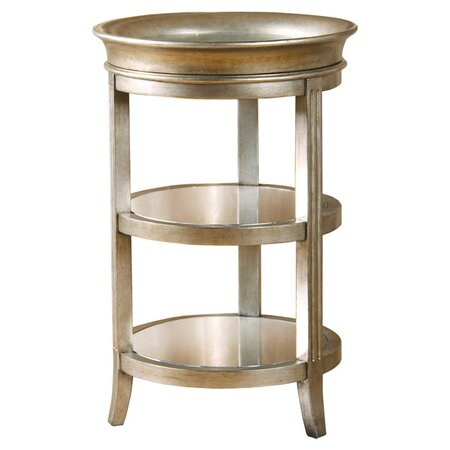 Maria Mirrored End Table EC End Tables on Joss & Main