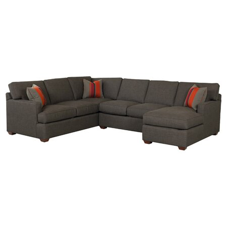 Briana sectional sofa for Sectional sofa joss and main