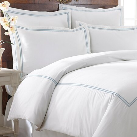 Karla Duvet Cover Set in Celestial Blue