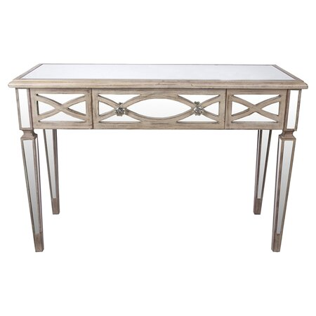 cameron mirrored console table our best tables chests
