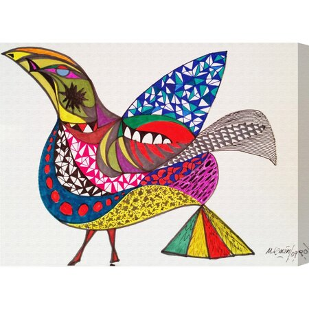 Bird Canvas Print, Oliver Gal