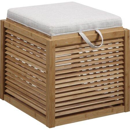 Kate Bamboo Storage Ottoman Kid Friendly Essentials On