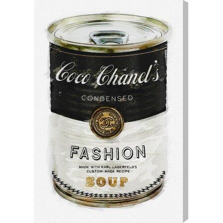 Fashion Soup Canvas Print, Oliver Gal