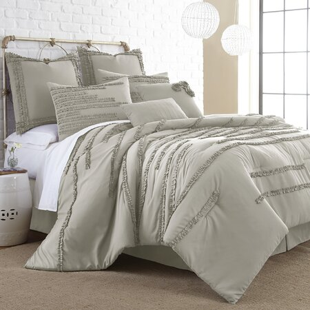 Elsie Comforter Set in Linen