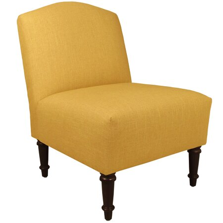 Mia Accent Chair in French Yellow Sitting Pretty on Joss