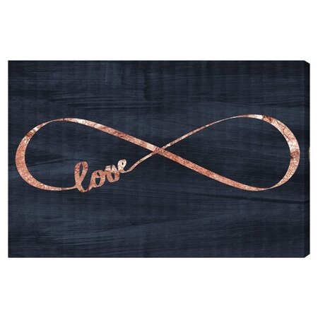 Infinite Love Canvas Print, Oliver Gal