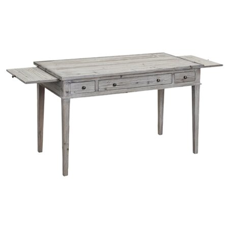 Providence Writing Desk In Gray Wash Rework Your Office