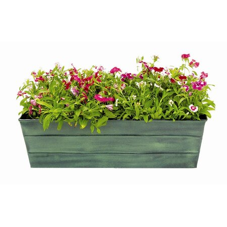 Galvanized Window Box Planter