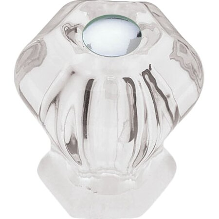 "Millie 1.26"" Cabinet Knob in Clear"