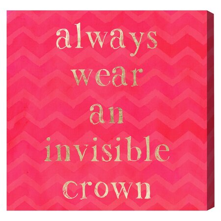Invisible Crown Canvas Print, Oliver Gal