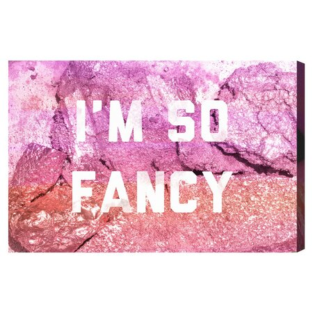 So Rocking Fancy Canvas Print, Oliver Gal