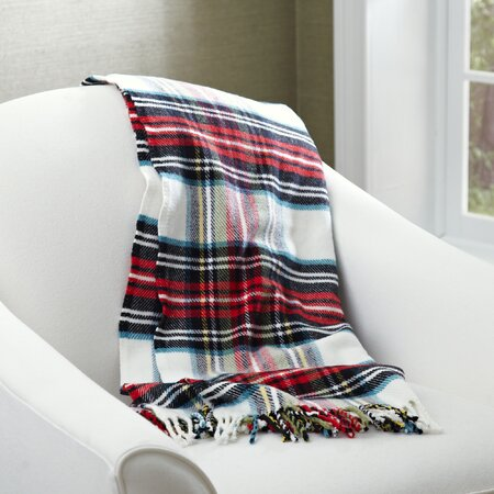 Mila Tartan Throw
