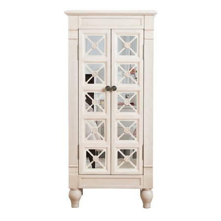 Donna Mirrored Jewelry Armoire