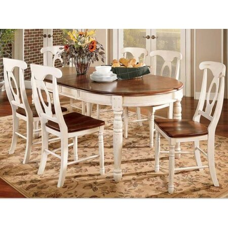 Allegra Dining Table in Buttermilk