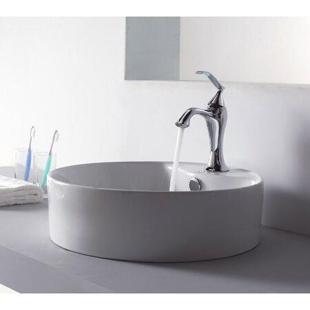 2-Piece Blair Sink & Faucet Set in Brushed Nickel