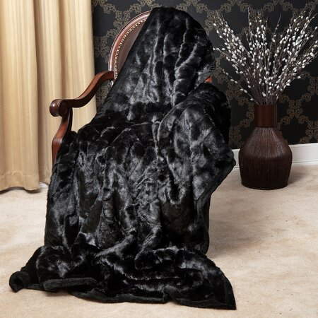 Hartford Throw in Black (Set of 2)
