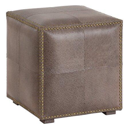 Grayton Leather Ottoman