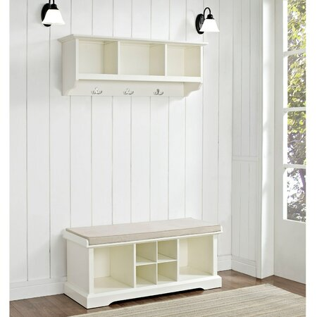 2-Piece Bartlett Shelf & Bench Set