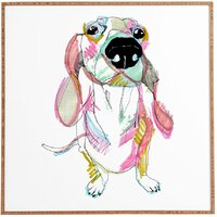 Casey Rogers Sausage Dog Framed Wall Art