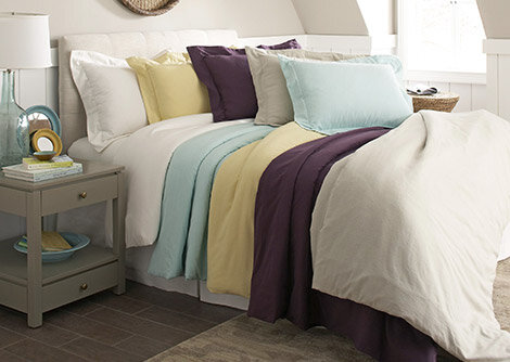 Bedding in Every Hue