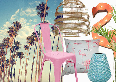 Tropical Punch: Pastels