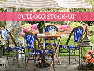 Outdoor Stock-Up