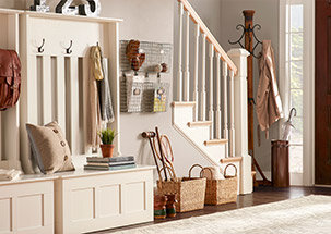 The Organized Mudroom